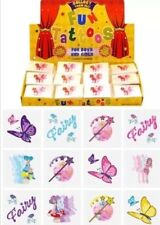 576 Fairy Temporary Children's Tattoos Wholesale Lot Job in asstd designs UK