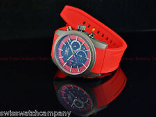 Invicta Men TI-22 SAPPHIRE CRYSTAL RED FIRE Titanium Case Chronograph Poly Watch