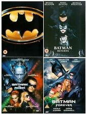 The Complete Batman Legacy DVD Collection Michael Keaton, Danny DeVito New Dvd