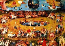 Hieronymus Bosch Der Garten der Lüste Ausschnitt Faksimile 4 auf Büttenpapier