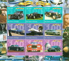 St Thomas - 2004 Rolls Royce 100th Anniversary - 9 Stamp Sheet 19A-020