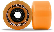 RETRO Freeride - 72mm 86a Orange Roues De Longboard Slidewheels