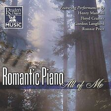 Romantic Piano: All of Me by Various Artists (CD, Aug-1999, Delta Distribution)