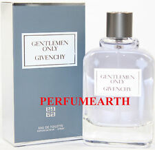 GENTLEMEN ONLY 1.6 / 1.7 OZ EDT SPRAY FOR MEN BY GIVENCY & NEW IN A BOX