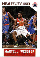 2015-16 Panini NBA Hoops #154 Martell Webster Washington Wizards NM Trading Card