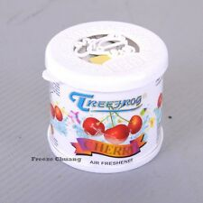 TREEFROG CHERRY SCENT AIR FRESHENER 80G GEL AUTO CAR HOME OFFICE