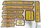 Malvern Star SuperMax Cr-Mo Decals Frame Bike Stickers Super max Old School BMX