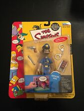 The Simpsons Playmates Officer Lou Action Figure 2001 NIB World of Springfield