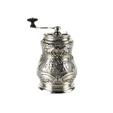 J. Kruz & Co Imported Sterling Silver Handled Pepper Mill Grinder, 1848