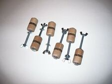 Old Violin Shop Luthier Tool:  Set of 6 Violin/Viola Spool Clamps VWWS USA