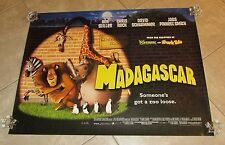 Madagascar movie poster - Ben Stiller, Chris Rock, David Schwimmer