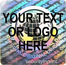 392 personalizado personalizado Mundo Holograma Seguridad calcomanías Etiquetas s20-1s