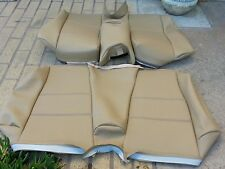 BMW E36 325I 318I 328is REAR SEAT CONVT SAND NAT VINYL UPHOLSTERY KITS 93-98 NEW