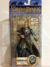 LEGOLAS DAGGER THROWING ACTION LORD OF THE RINGS TOLKIEN TOY BIZ RARE