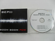 BLACK EYED PEAS BEP BOOM BOOM POW CD PROMO 3 TRACK INTERSCOPE SAMMLERSTÜCK