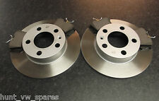 QUALITY JURATEK REAR BRAKE DISCS AND PADS VW GOLF MK4 BORA 1.4 1.6 1.9 2.0