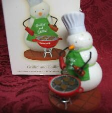 HALLMARK 2008 ORNAMENT~GRILLIN' AND CHILLIN'