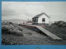PHOTO  EMBO RAILWAY STATION  ON THE DORNOCH-THE MOUND LINE IN THE 1960'S
