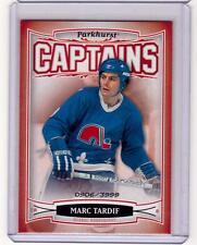 MARC TARDIF 06/07 Parkhurst CAPTAINS Insert Card #174 Quebec Nordiques /3999