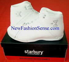 Brand New Authentic Starbury One Bleach White High Top Basketball Shoes Size 7