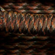 PARACORD 550 TYPE 3 - 7 STRAND PARACHUTE CORD - HIDDEN CAMOUFLAGE - 100FT