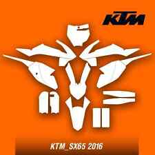 ktm_sx65-2016 motocross vector template (1:1 scale)