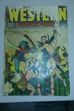 Western Fighters vol 4 #7 Hillman Comics 1953 Golden-Age Frontier Adventure