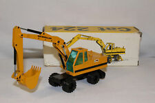 1970's NZG Caterpillar Model 224 Wheel Excavator, Nice with Original Box