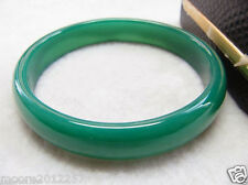 Natural beautiful Chinese green jade bangle bracelet size 68mm ~ 70mm