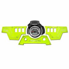 XP1000 3 Piece Dash Panel ONLY Lime Squeeze Polaris RZR Custom CNC 6 Switches