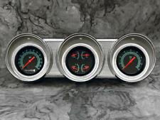 62 63 Ford Fairlane Billet Aluminum Gauge Panel Dash Insert Instrument Cluster