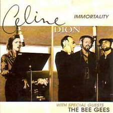 CD SINGLE Céline DION & BEE GEES Immortality 2-track CARD SLEEVE