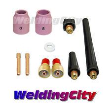 """TIG Welding Gas Lens Accessory Kit (3/32"""") for Torch 9/20/25 T40 