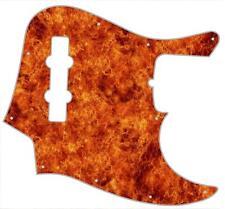 J Jazz Bass Pickguard Custom Fender Graphic Graphical Guitar Pick Guard Inferno