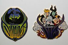 DISNEY CHERNABOG DIVAS VILLAIN EVENT 2000 2 PIN SET VILLAINS ENCHANTED EVENING