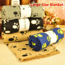 Creative Easy to Use Pet Dog Cat Puppy Warm Paw Prints Couture Cloak Blanket