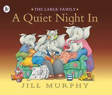 Preschool Story Book - THE LARGE FAMILY: A QUIET NIGHT IN by Jill Murphy - NEW