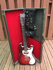 1965 Danelectro Silvertone Guitar & 1457 Amp-In-Case All Tube