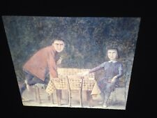 "Balthus ""The Card Game"" Polish French Modern Art 35mm Glass Slide"