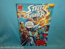 Street Fighter #1 Video Game by Malibu Comics Very Fine Condition