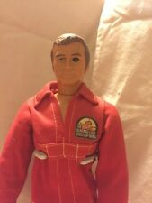 Vintage Six Million Dollar Man from 1970's Kenner, Out of box, with motor
