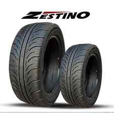 265/35ZR 18 x2 Zestino Gredge 07R Semi-Slick DOT racing tire