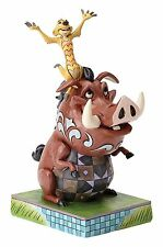 Disney Traditions Timon and Pumba, Multi-Colour Collecters Ornament Figure NEW