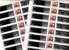 CCCP 7 Feuilles Sheets 8x3 TP/stamps Triptyque 1966 Luna IX URSS