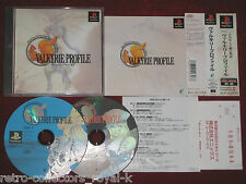 *Complete* PS1 RPG Game VALKYRIE PROFILE NTSC-J Japan Import PlayStation