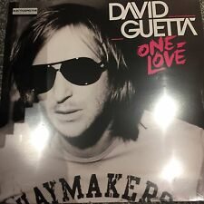 DAVID GUETTA ' ONE LOVE ' 2 X LP Vinyl  - BRAND NEW & SEALED