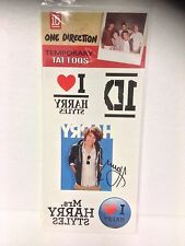 One Direction (1D) Harry Styles Temporary Tattoos