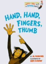HAND HAND FINGERS THUMB Dr. Seuss NEW Beginner BOOK Suess LEARNING Read RHYME