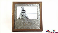 Square DAD Picture Photo Frame Christmas Gift Home Office Decor GKIDAD26