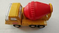 1970 55040 Tonka Cement Mixer Pressed Steel Yellow Red Construction
